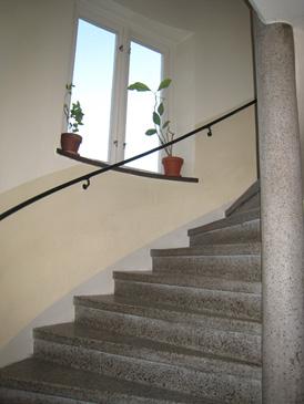 Ledstång trappa inomhus