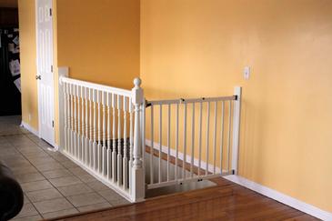 säkerhetsgrind barn trappa