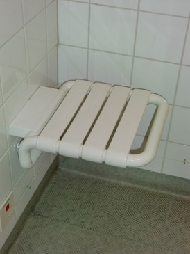 Pall i duschen